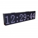 Display a led data ora temperatura